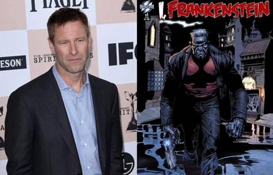 Aaron-Eckhart-I, Frankenstein