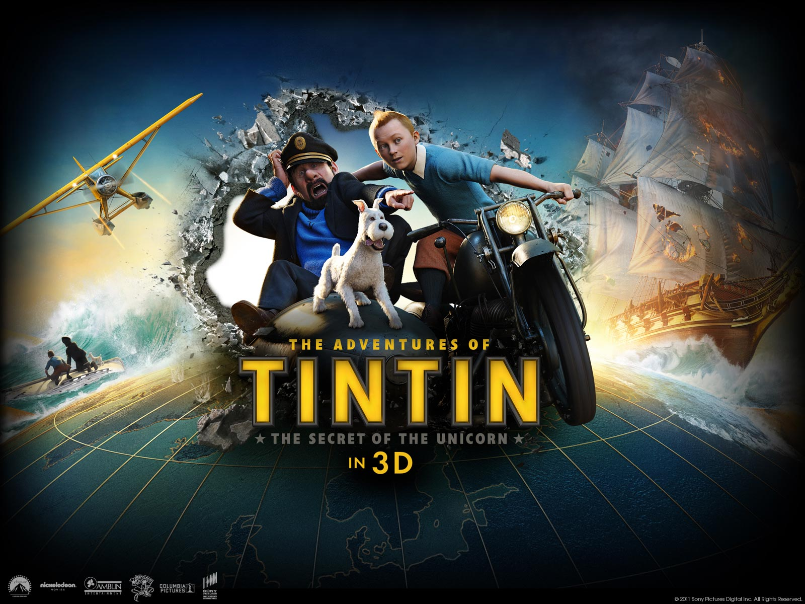 Image Result For Adventure Of Tintin Movie