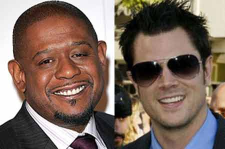 Forest Whitaker and Johnny Knoxville