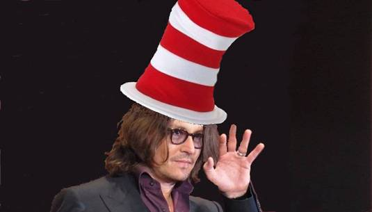 Johnny Depp to Become Dr  Seuss