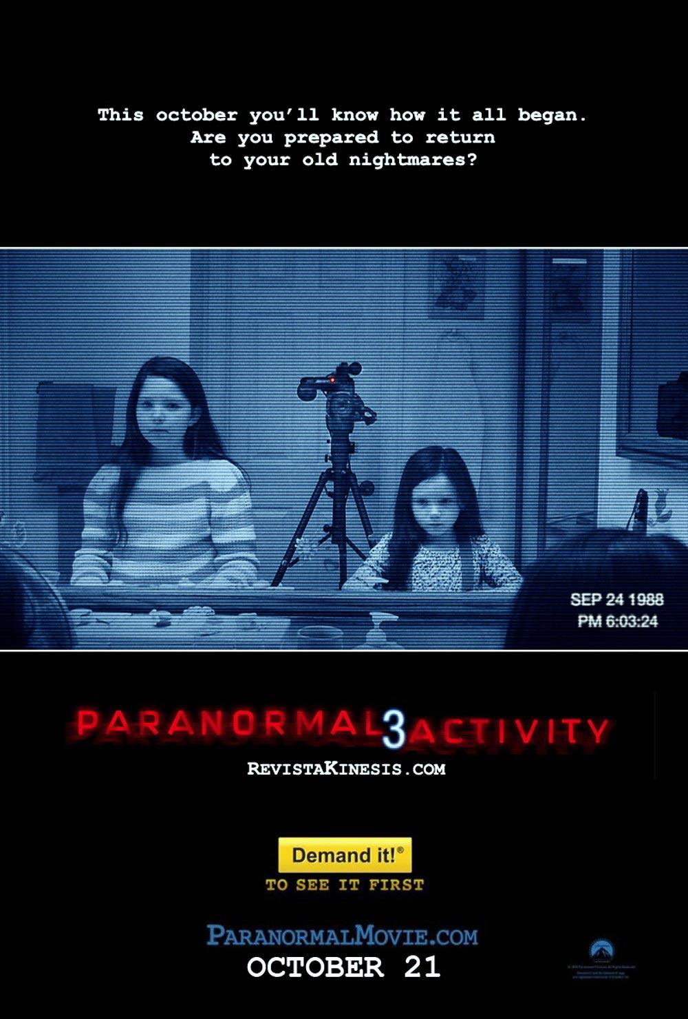 Paranormal Activity 3 / პარანორმალური მოვლენა 3 (ქართულად) (2011/GEO/BDRip 720P)