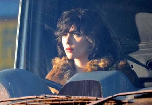 Scarlett Johansson -  Under The Skin set photo