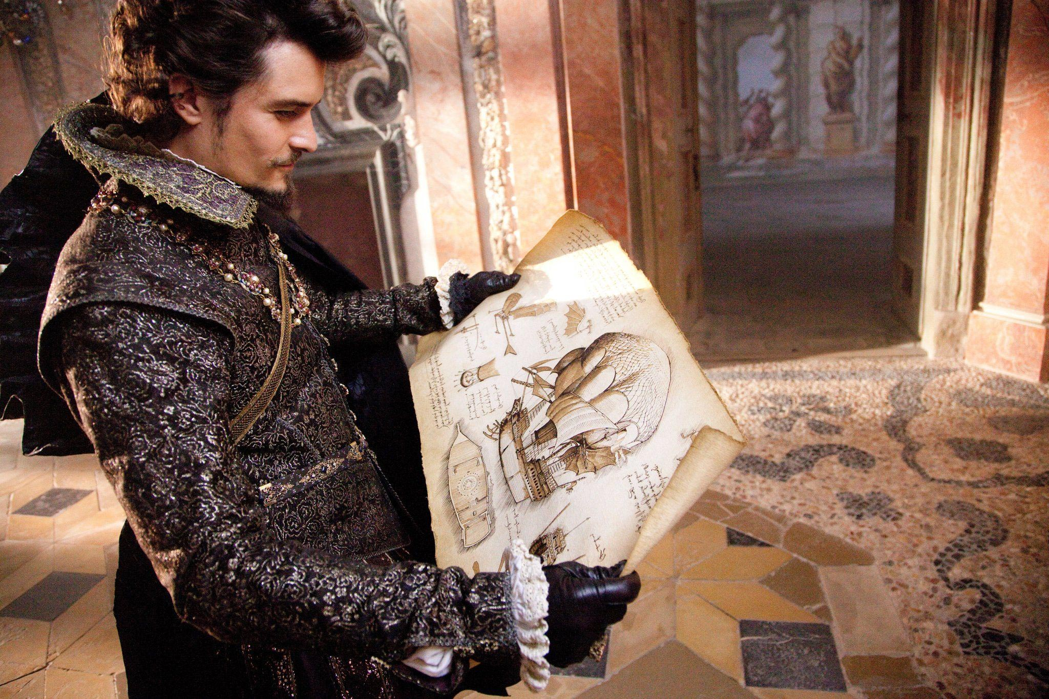Orlando Bloom in The Three Musketeers