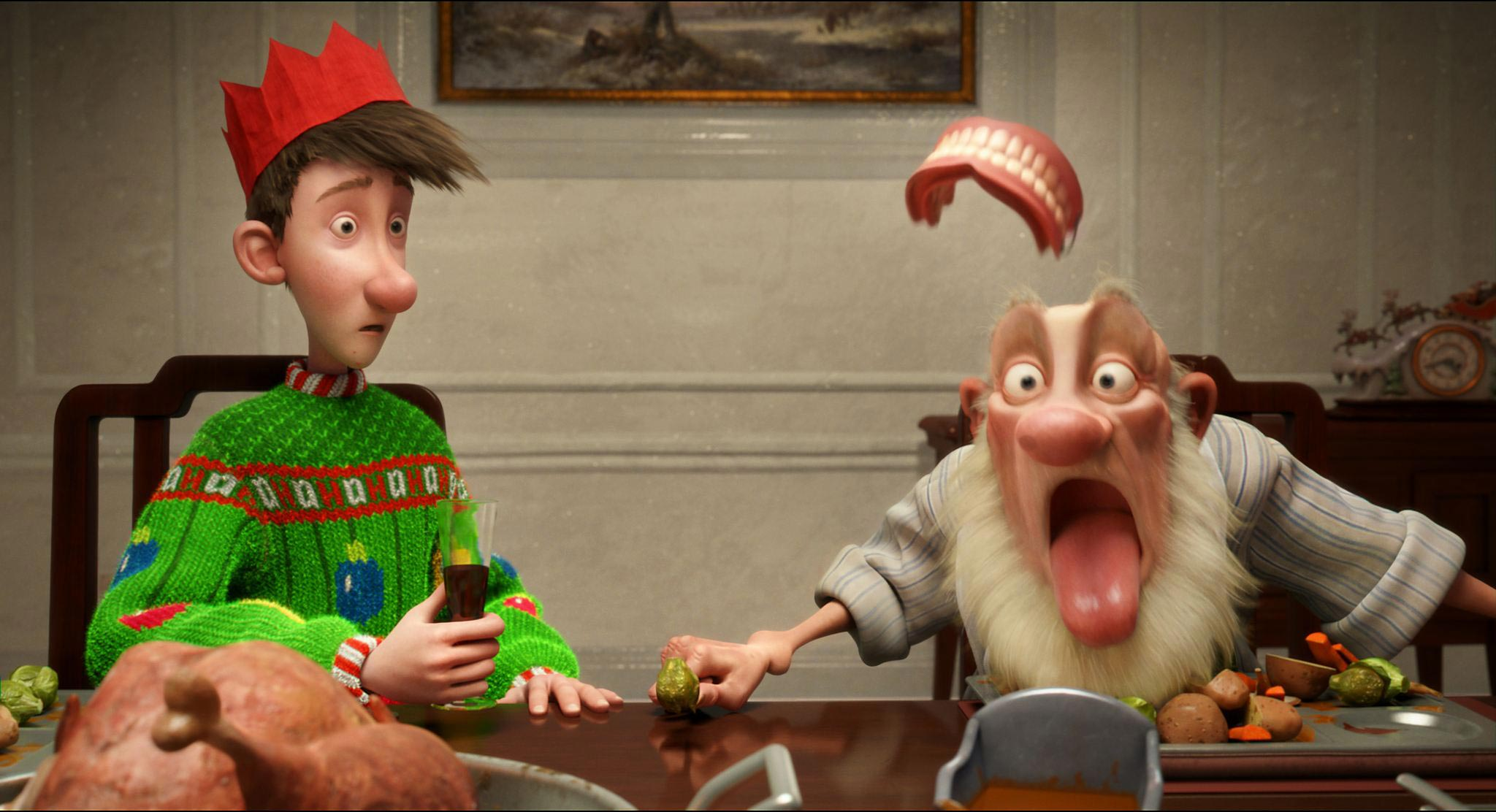 Two New ARTHUR CHRISTMAS Trailers Online!