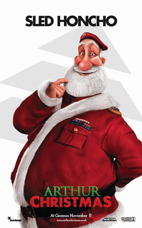 Arthur Christmas Poster | Sled Honcho