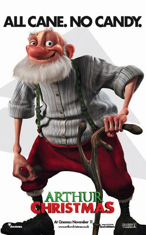 Arthur Christmas Poster | All Cane. No Canidy