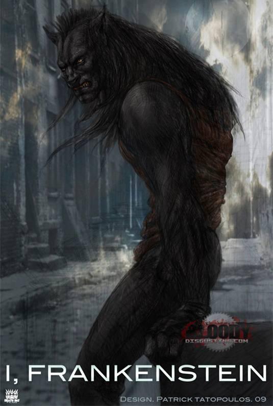 I Frankenstein-concept-Werewolf