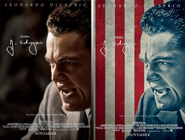 Two J. EDGAR Posters