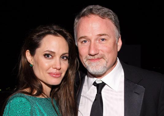 Angelina Jolie y David Fincher