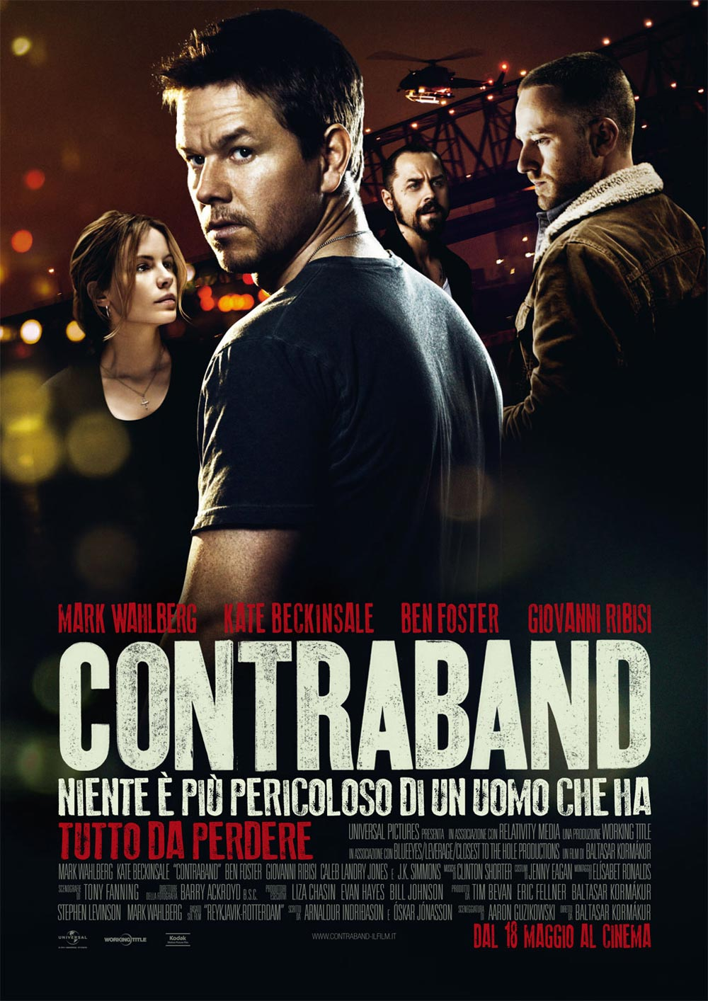 CONTRABAND is directed by Baltasar Kormákur and comes to theaters ...