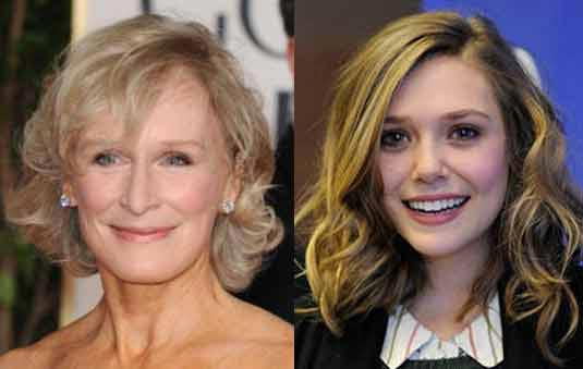 Glenn Close and Elizabeth Olsen