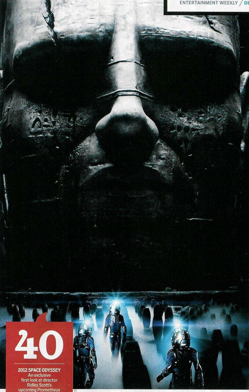 First Ridley Scott's PROMETHEUS Teaser Poster and Photos ...