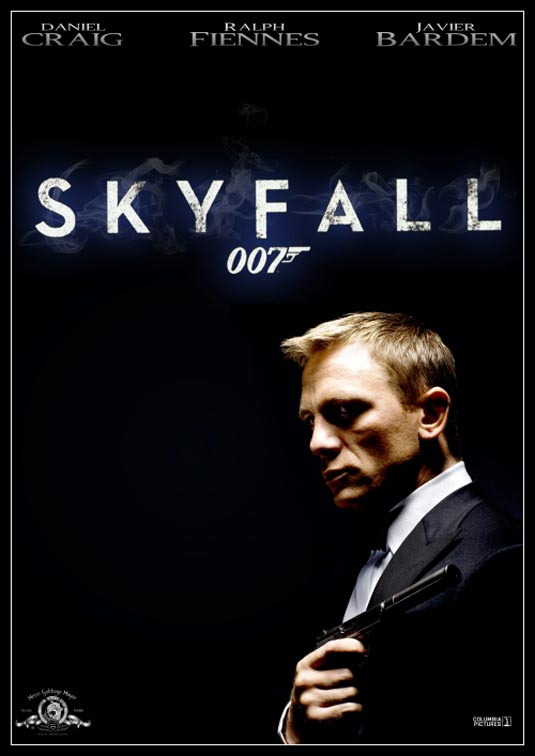skyfall confirmed as bond 23 title. Black Bedroom Furniture Sets. Home Design Ideas