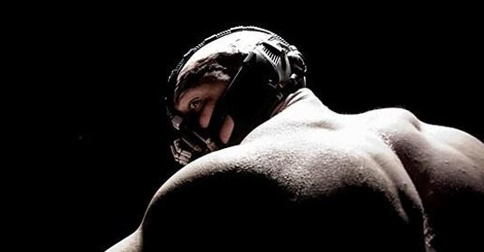 The Dark Knight Rises-Tom hardy as Bane