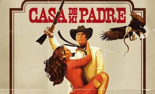 Casa De Mi Padre-Poster