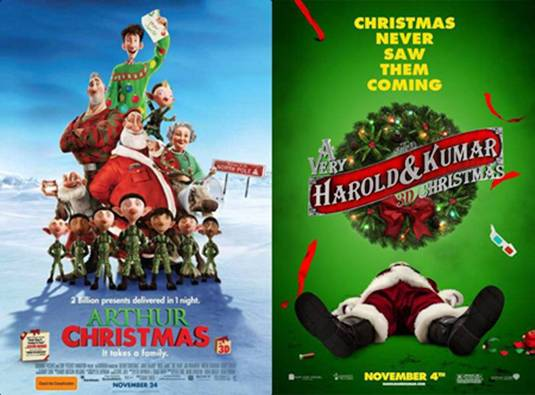 Best Movie Tips for Christmas 2011 - FilmoFilia