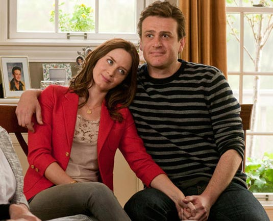 Emily Blunt and Jason Segel in Five-Year Engagement