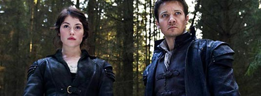 Gemma Arterton and Jeremy Renner in Hansel & Gretel Witch Hunters