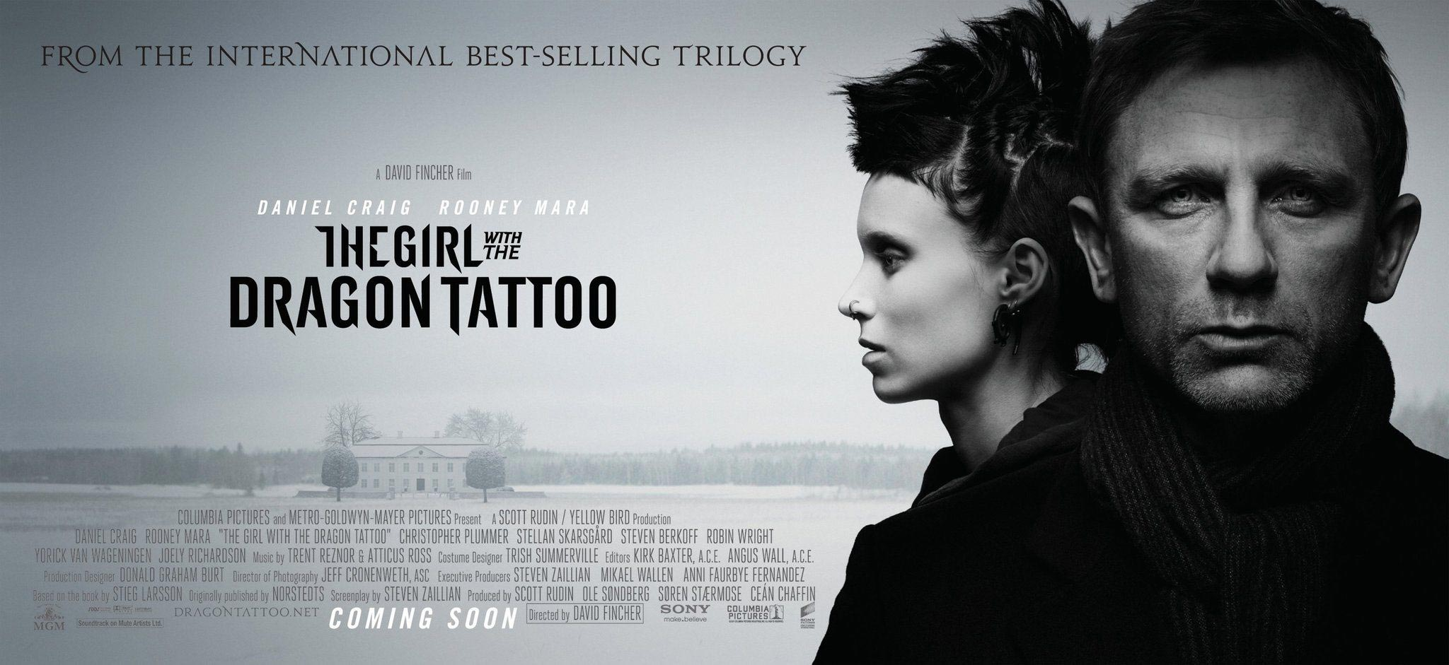 girl with the dragon tattoo The girl with the dragon tattoo - disgraced financial reporter mikael blomkvist (daniel craig) finds a chance to redeem his honor after being hired by.