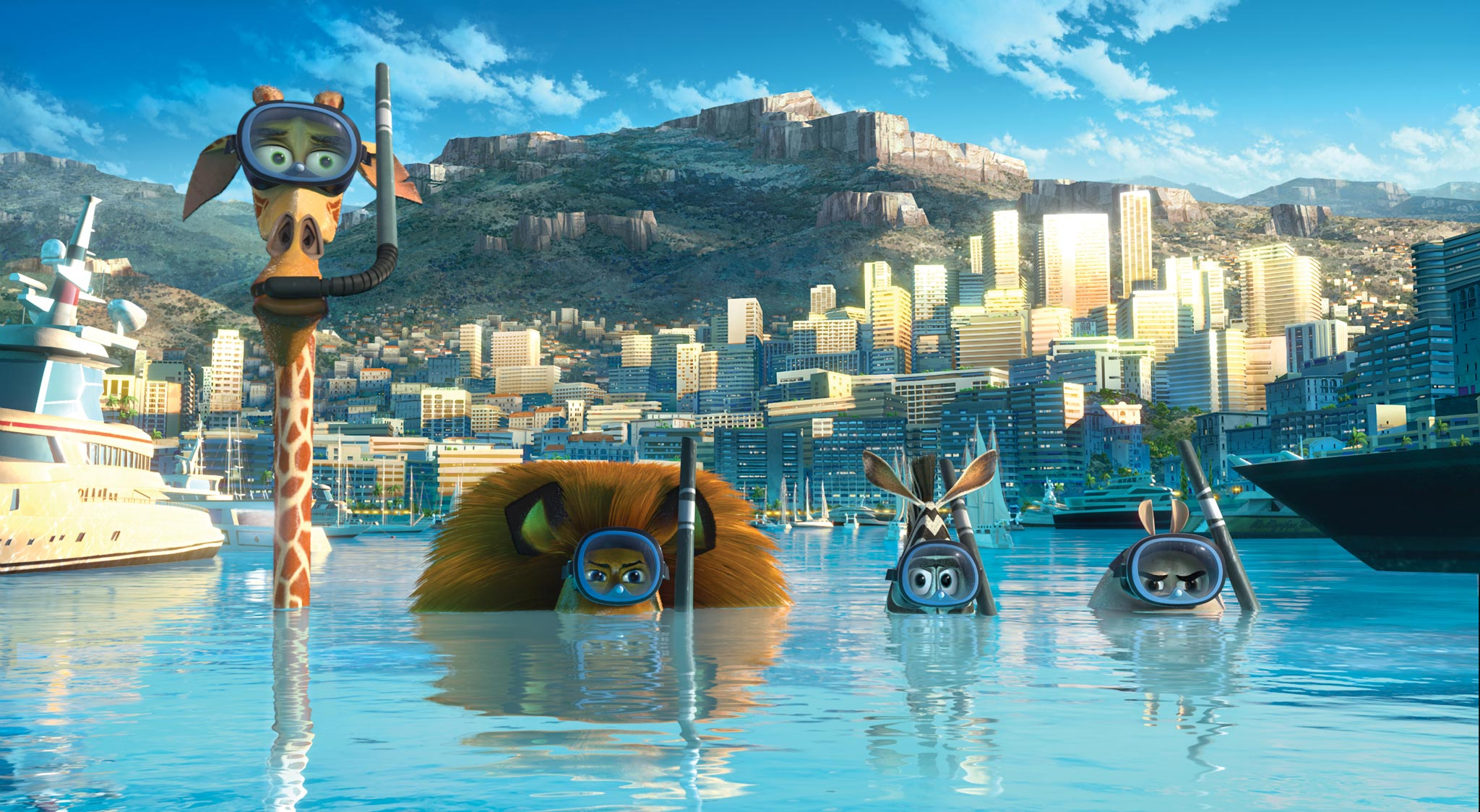 The trailer and two posters for madagascar 3 europe's most wanted