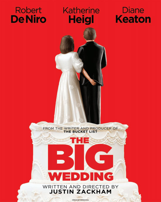 THE BIG WEDDING Teaser Poster - FilmoFilia