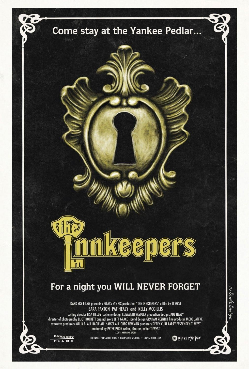 the innkeepers trailer and posters
