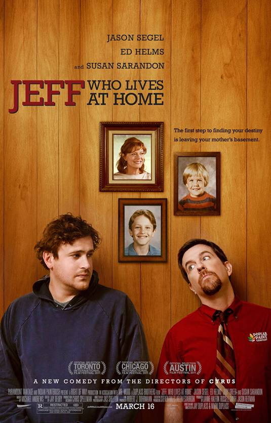 Jeff, Who Lives at Home - Poster