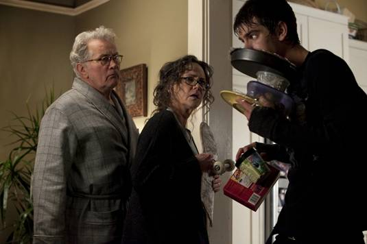 Martin Sheen,Sally Field and Andrew Garfield in The Amazing Spider-Man