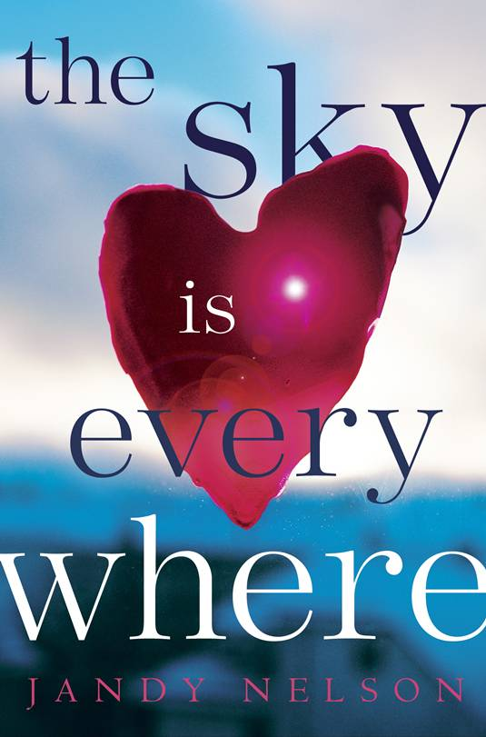 The Sky is Everywhere, Cover