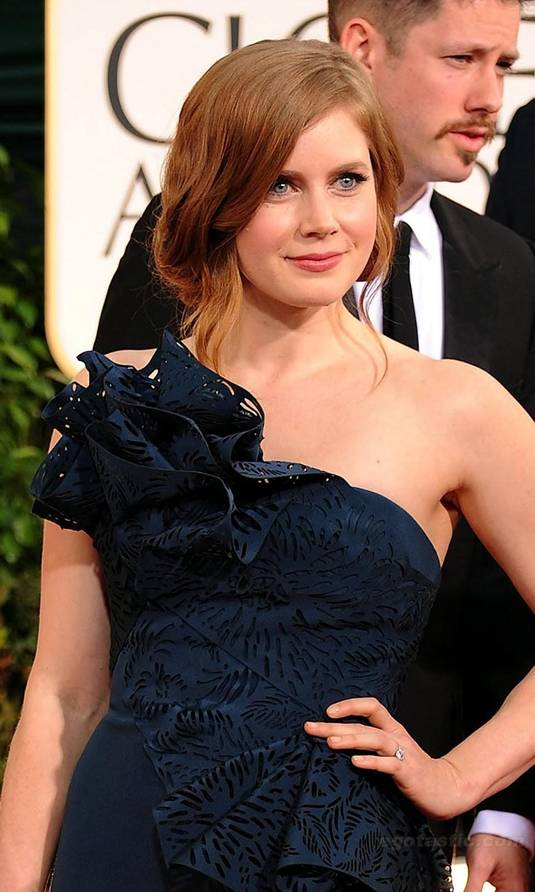 Amy Adams - Golden Globes Red Carpet
