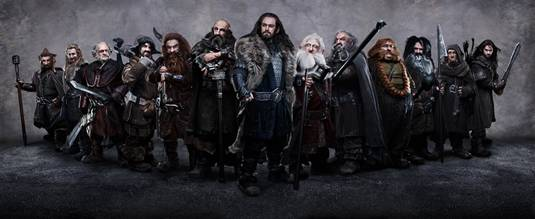 All 13 Dwarves - The Hobbit-An Unexpected Journey