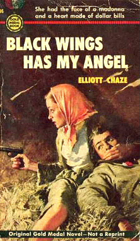 Black Wings Has My Angel, Cover