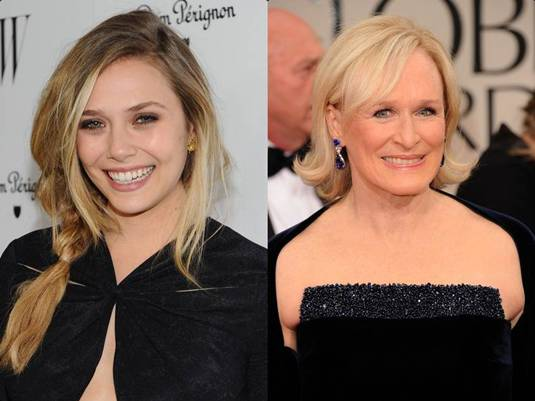 Elizabeth Olsen - Glenn Close