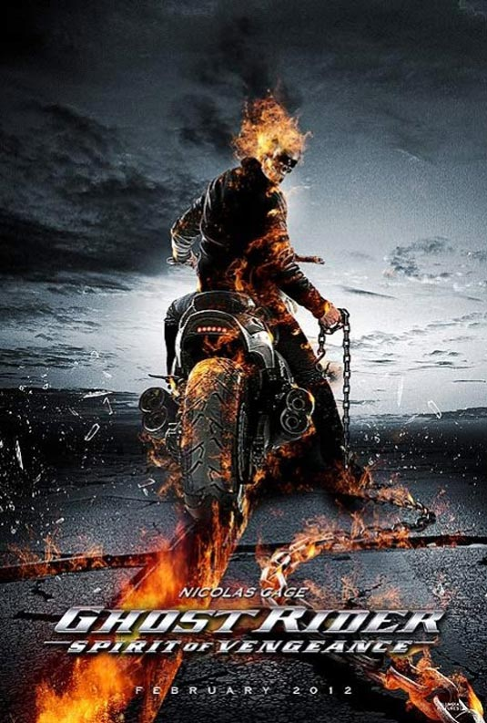 GHOST RIDER: SPIRIT OF VENGEANCE Promo Posters