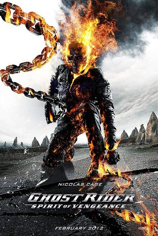 Poster de Ghost Rider: Spirit of Vengeance