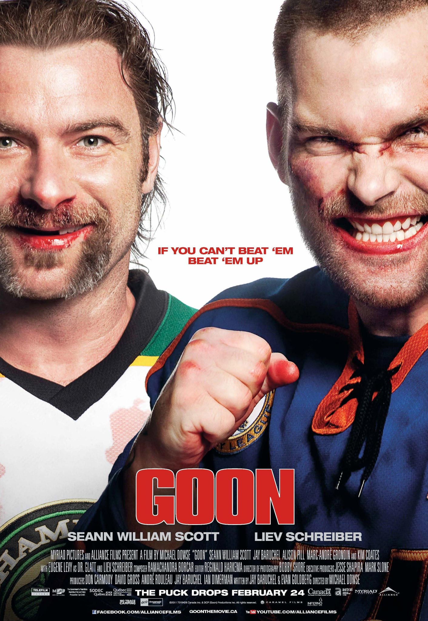 Goon banner and poster filmofilia for Farcical comedy movies