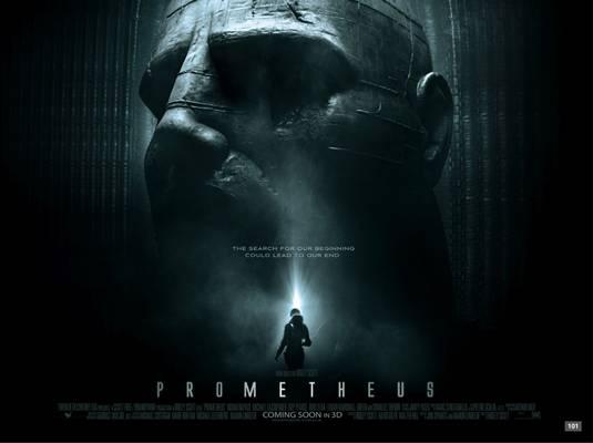 Prometheus poster quad