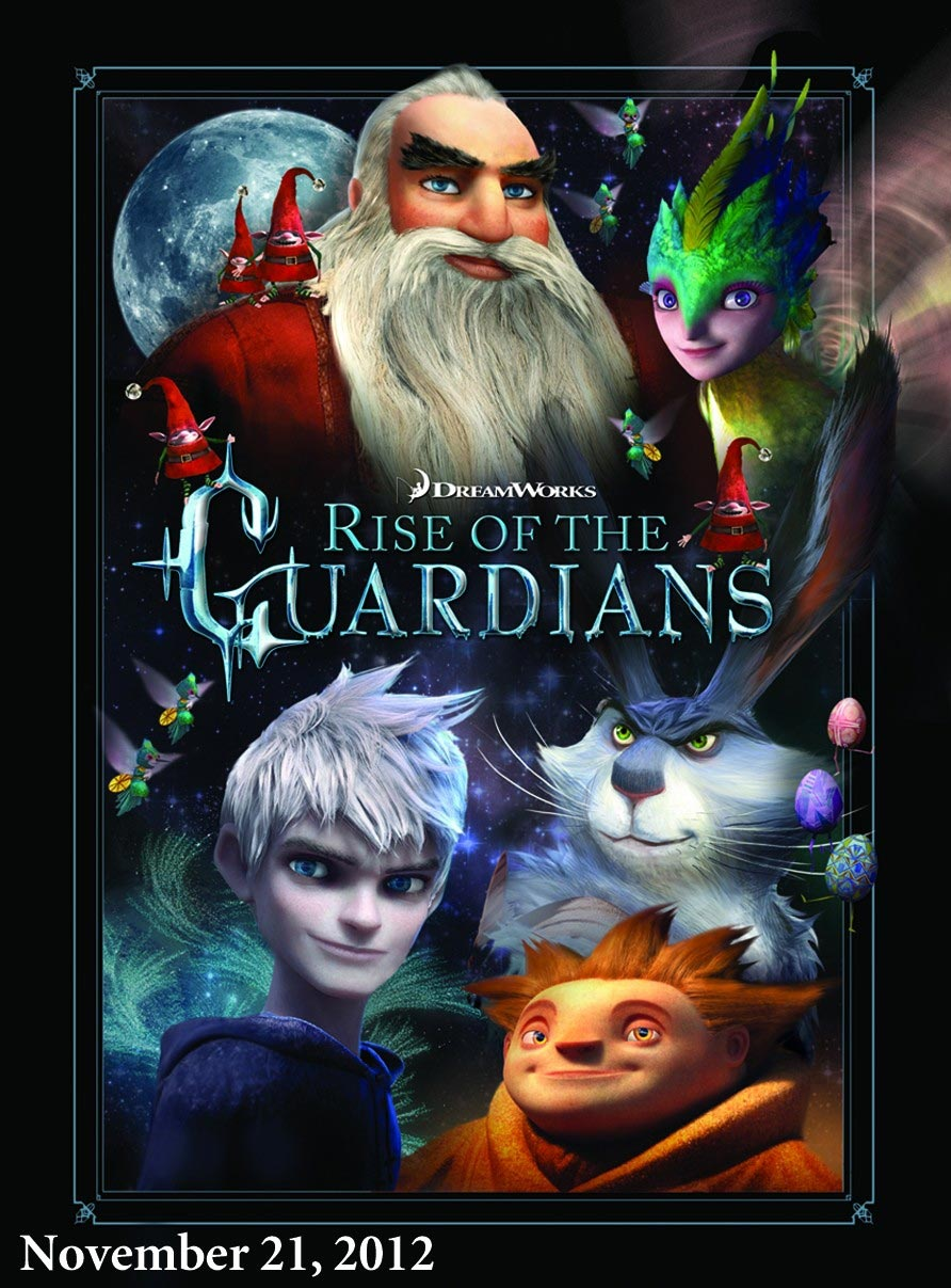 Second rise of the guardians poster filmofilia - Pics of rise of the guardians ...