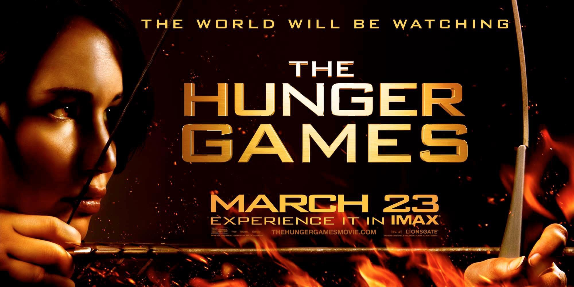 "Poster for ""The Hunger Games"" 2012"