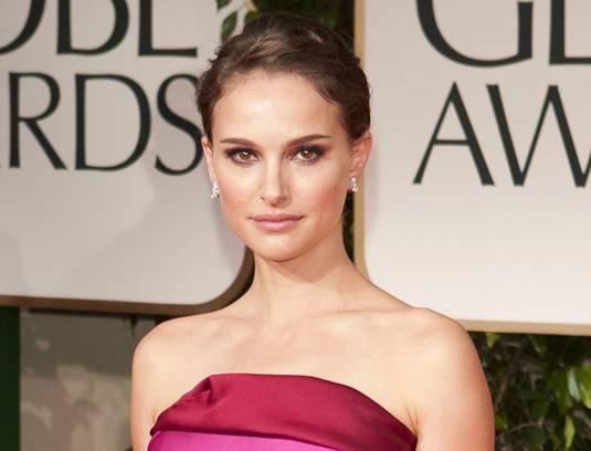 Natalie Portman - Golden Globes 2012