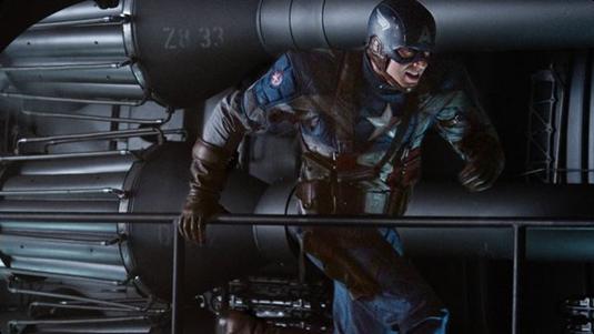 Cris Evans as Captain America