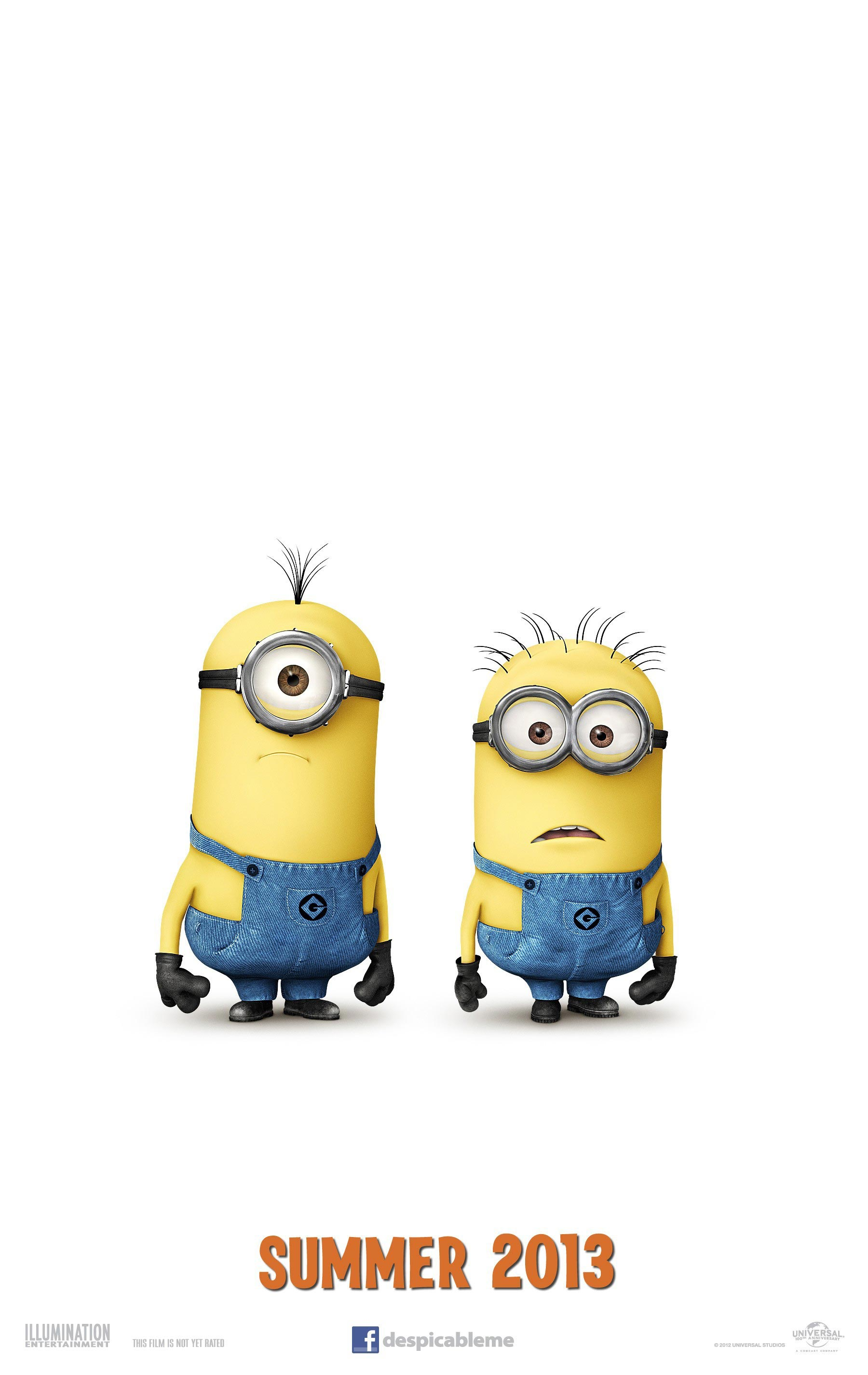 DESPICABLE ME 2 Teaser Trailer And Poster