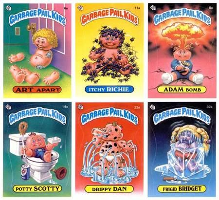 Garbage Pail Kids - Trading cards