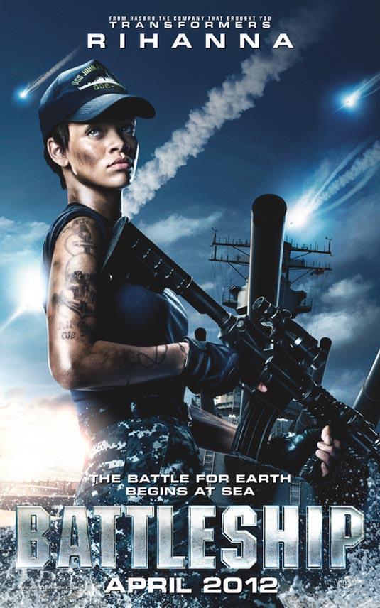 Rihanna Banner, Battleship
