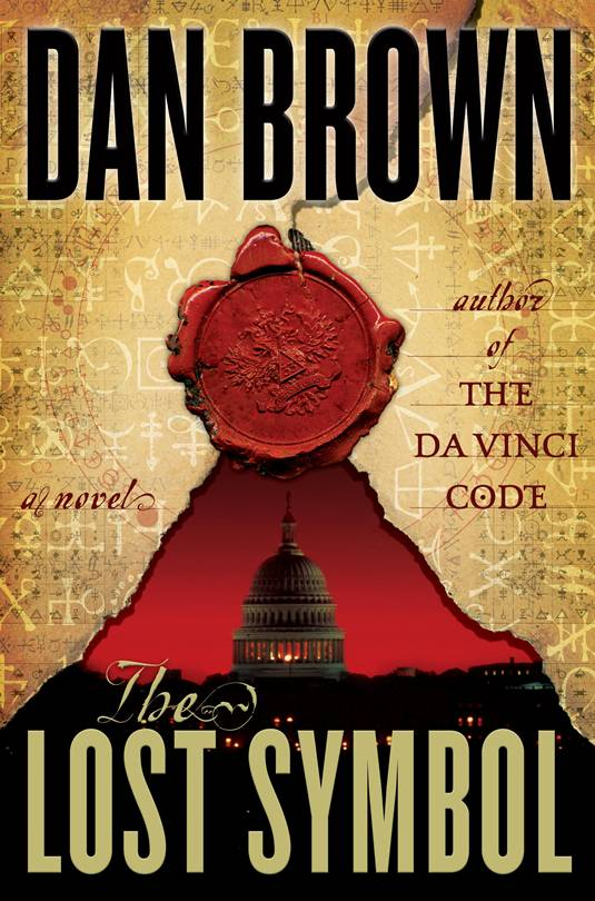 The Lost Symbol, Cover