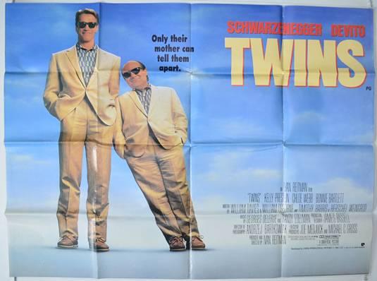 Twins - Original Quad Poster