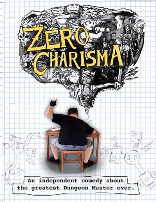 Zero Charisma poster art by Jason Lenox