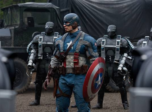 Captain America - The First Avengers Movie Image