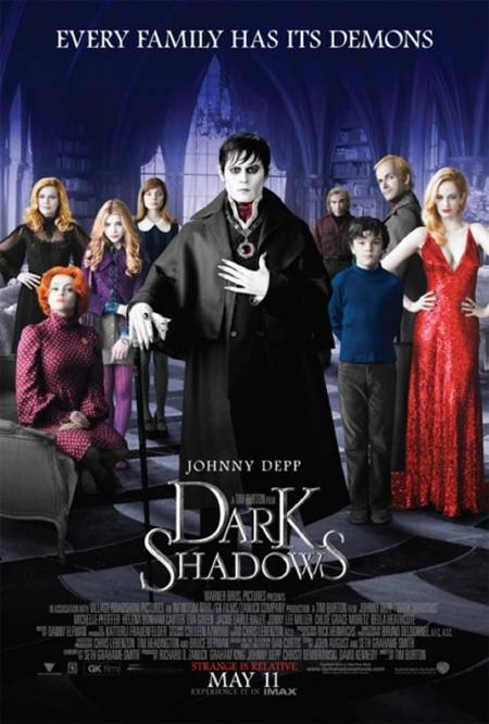 Dark Shadows - One-Sheet