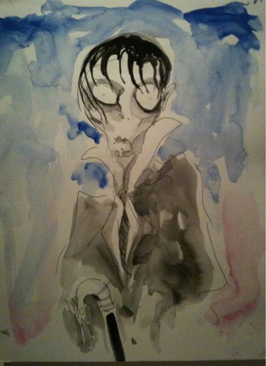 Dark Shadows - Tim Burton Artwork